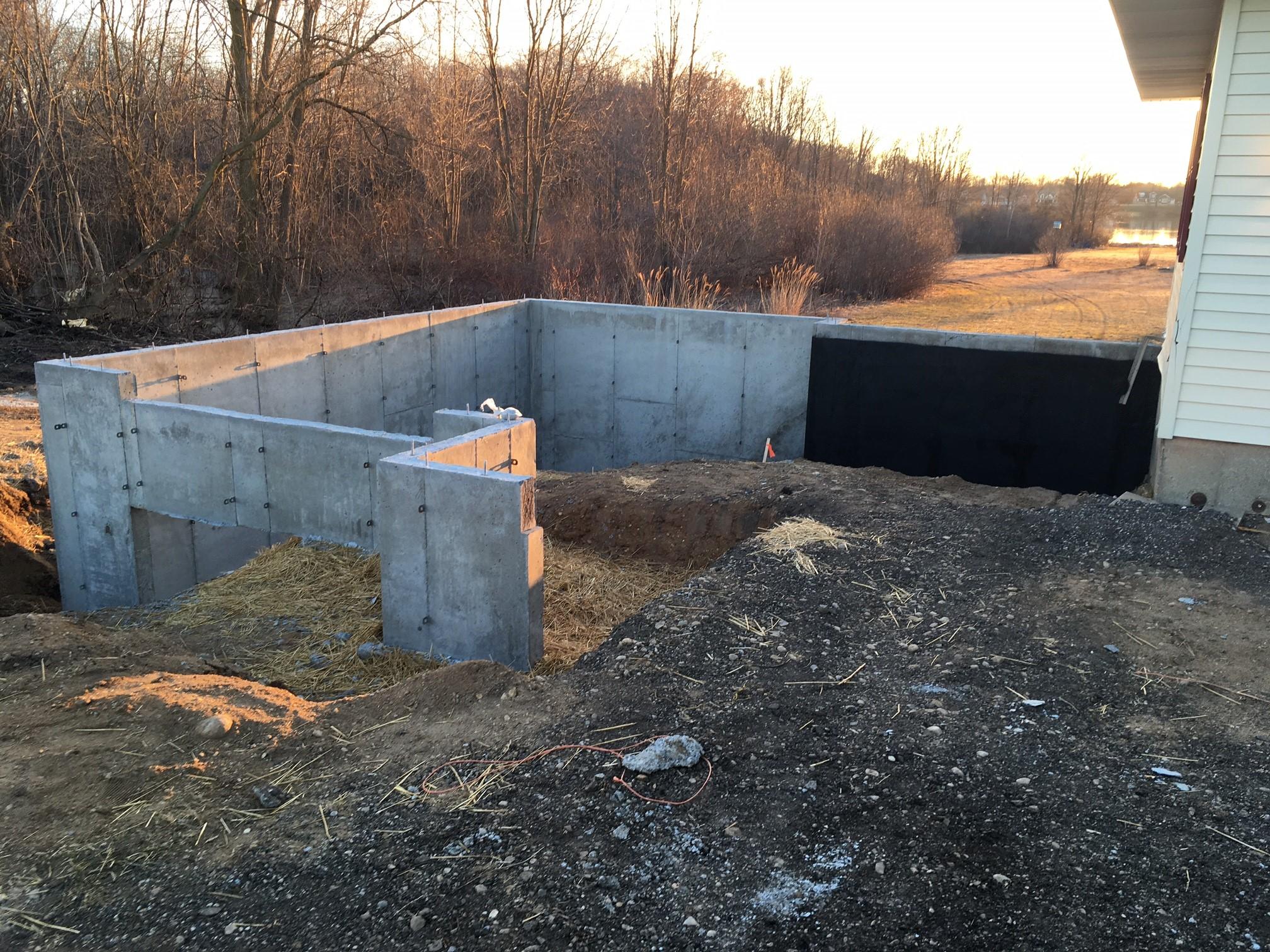 Poured concrete walls 79 concrete works perma 100 for Poured concrete basement walls